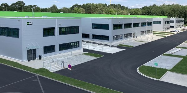 MLP Business Park Berlin ready for use